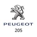 Abgasrohr Peugeot 205