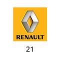 Abgasrohr Renault 21