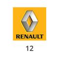 Katalysator Renault 12