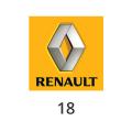 Katalysator Renault 18