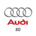 Abgasrohr Audi 80