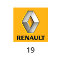Abgasrohr Renault 19