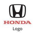 Abgasrohr Honda Logo