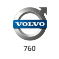 Abgasrohr Volvo 760