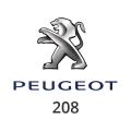 Abgasrohr Peugeot 208
